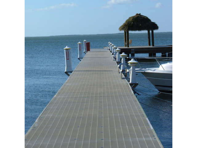 G R P Beach Boat Dock and Walkway