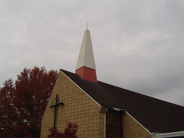 Fiberglass Reinforced Plastic Radio Frequency Transparent Fiberplate Church Steeple Antenna Concealment
