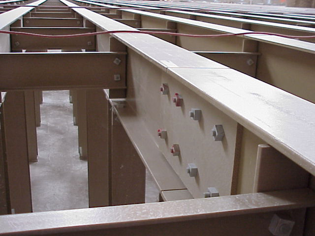 Fiber Glass Reinforced Plastic Structural Shapes in Wastewater Treatment Facility