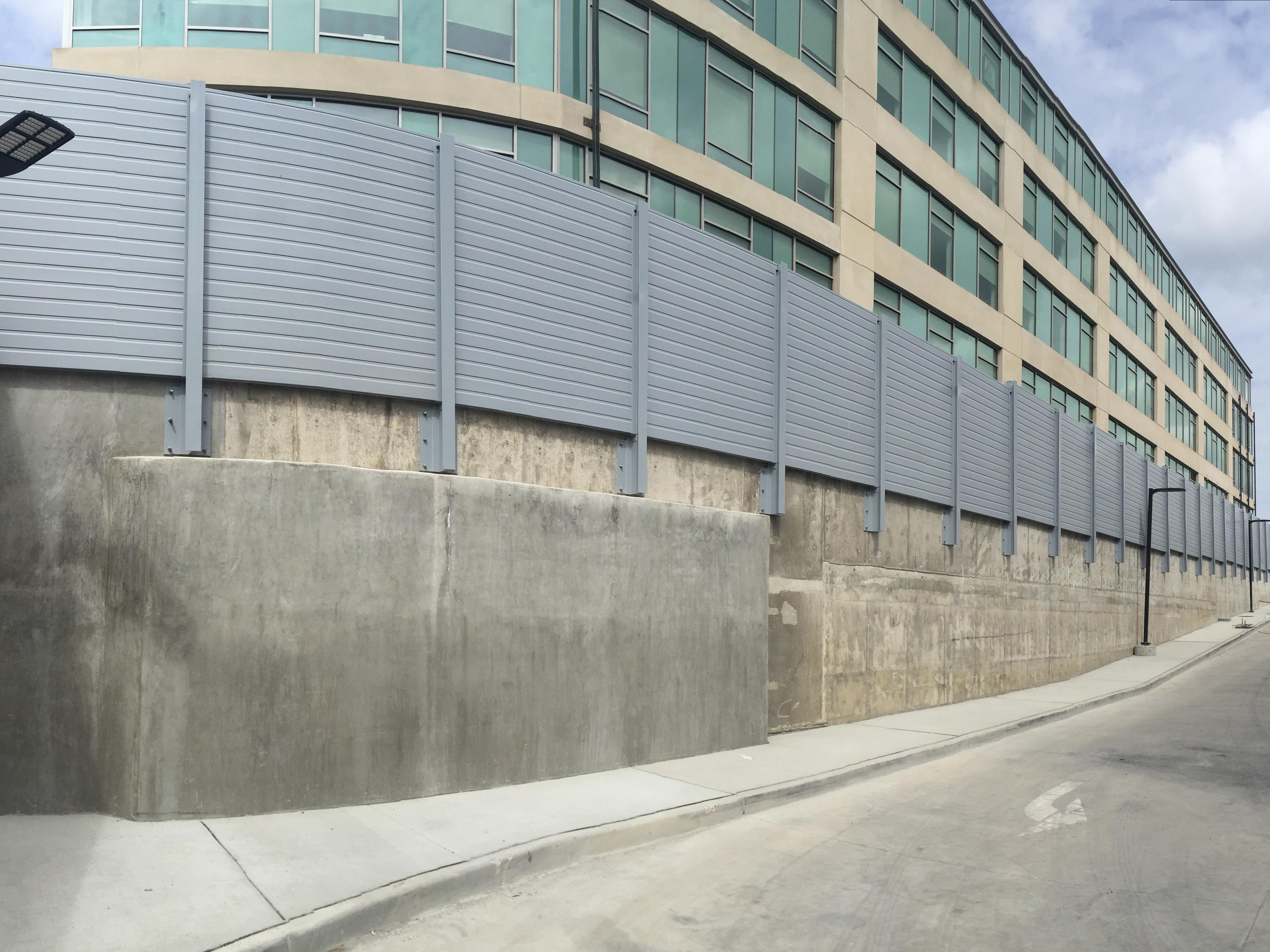 sound barrier walls. G R P Sound Barrier Wall. F Soundwall. GRP Soundscape Soundwall Walls
