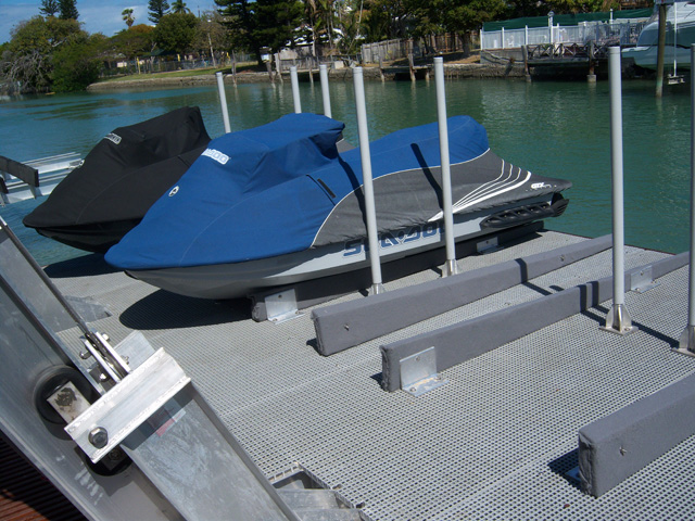 """G R P"" Corrosion Resistant Boat Lift and Dock, Mini Mesh Fiberglass Grating"